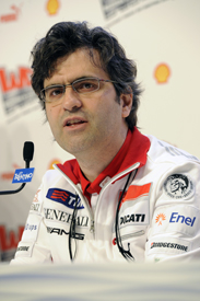 Filippo Preziosi Ducati general manager 2012