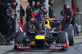 MArk Webber Red Bull 2012 Barcelona test