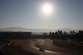 Kamui Kobayashi Sauber 2012 Barcelona testing
