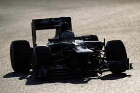 Heikki Kovalainen Caterham Barcelona test 2012