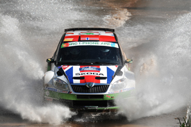 Andreas Mikkelsen, Skoda UK, Azores 2012