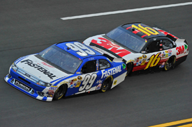 Greg Biffle and Carl Edwards