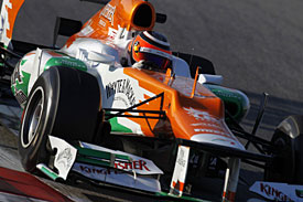Nico Hulkenberg, Force India, 2012