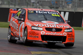 Craig Lowndes, Triple Eight Holden, Adelaide 2012