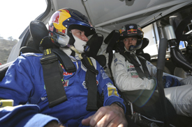 Carlos Sainz and Sebastien Ogier