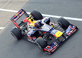 Mark Webber, Red Bull, 2012 Barcelona testing