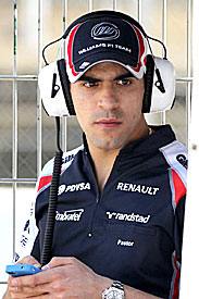 Pastor Maldonado, Williams, 2012 Barcelona testing