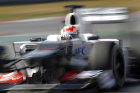 Sergio Perez, Sauber, Catalunya testing 2012