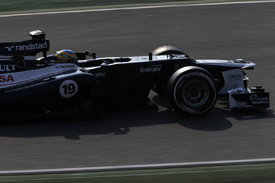 Bruno Senna, Williams, Catalunya testing 2012