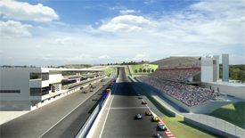Austin F1 track