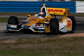 Ryan Hunter-Reay, Andretti, Sebring testing 2012