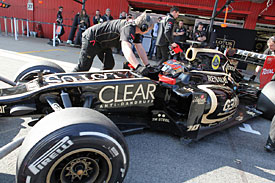 Romain Grosjean, Lotus, 2012