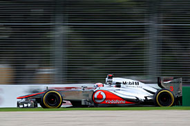 Jenson Button, McLaren, Melbourne 2012