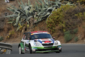 Andreas Mikkelsen IRC Rally Islas Canarias