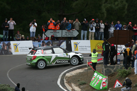 Jan Kopecky Skoda IRC Canaries Rally
