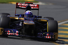 Daniel Ricciardo, Toro Rosso, Catalunya testing 2012