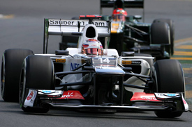 Sauber Australia 2012