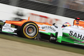 Paul di Resta, Force India, Melbourne 2012