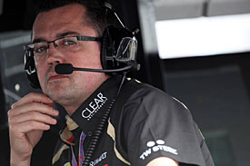 Eric Boullier, Lotus, Melbourne 2012
