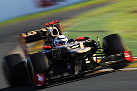 Kimi Raikkonen, Lotus, Melbourne 2012