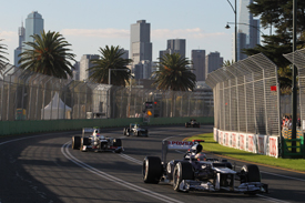 Pastor Maldonado, Williams, Melbourne 2012
