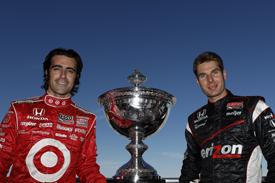 Dario Franchitti Ganassi Will Power Penske IndyCar 2011