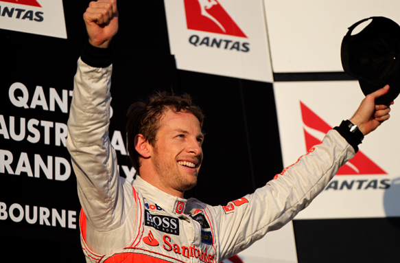 Jenson Button McLaren 2012 Australian Grand Prix