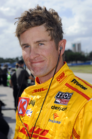 Ryan Hunter-Reay Andretti Dallara IndyCar 2012 Sebring test