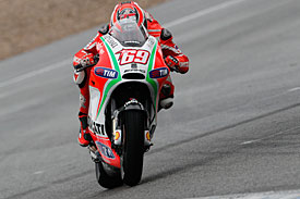 Nicky Hayden, Jerez testing, 2012