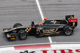 James Calado Lotus GP2 Sepang 2012