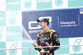 James Calado wins at Sepang