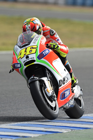 Valentino Rossi, Ducati, Jerez testing 2012
