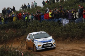 Alastair Fisher, WRC Academy, Portugal 2012