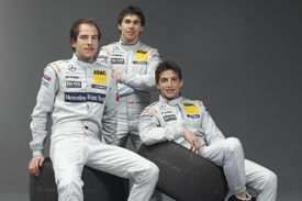 Roberto Merhi RObert Wickens Christian Vietoris Mercedes DTM 2011
