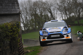 Alastair Fisher, M-Sport Ford, Ireland 2012