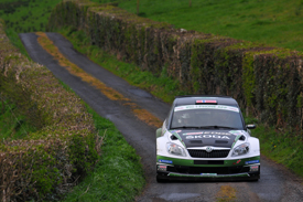 Andreas Mikkelsen, Skoda UK, Ireland 2012