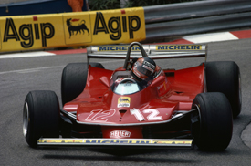 Gilles Villeneuve, Ferrari, Monaco 1979