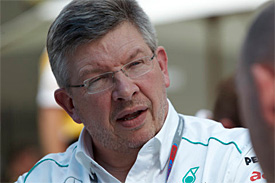 Brawn isn't happy about threats of a protest