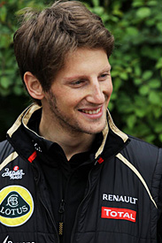 Romain Grosjean, Lotus