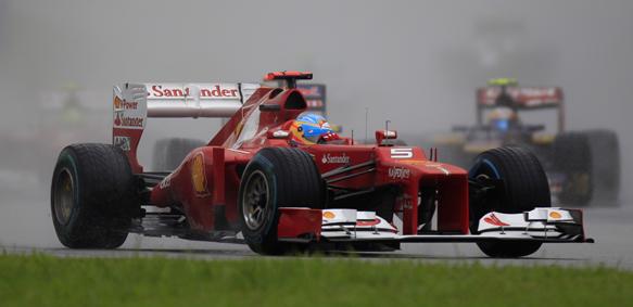 Fernando Alonso 2012 Malaysian Grand Prix