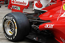 Ferrari 2012, Pirelli tyre, China 2012