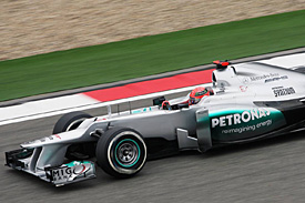 Michael Schumacher, Mercedes