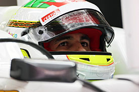 Sergio Perez, Sauber, China 2012