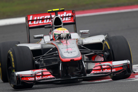 Lewis Hamilton McLaren 2012 Chinese Grand Prix