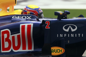Mark Webber, Red Bull, Shanghai 2012