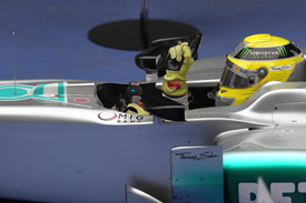 Nico rosberg Mercedes 2012 Chinese Grand Prix