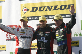 Mat Jackson Jason Plato Gordon Shedden BTCC DOnington 2012