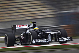 Bruno Senna, Williams, China 2012