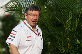 Ross Brawn, Mercedes, China 2012