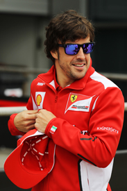 Fernando Alonso Ferrari 2012 Chinese Grand Prix